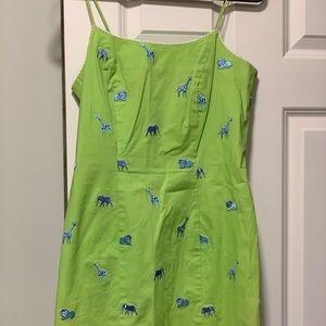 Lily Pulitzer animal print dress